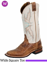 Justin Boots Women's Tan Puma Cowhide Boots BRL336