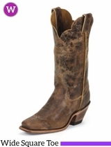 Justin Boots Women's Tan Road Boots BRL122