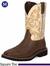 Justin Copper Kettle Cowhide Stampede Collection Boots WK4683
