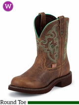 Justin Women's Tan Jaguar Gypsy Boots L9606