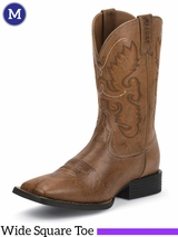 Justin Men's Burnished Brown Farm & Ranch Boots JB1113