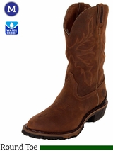 Justin Waterproof Cowboy Workboot Bay Apache 4936 ZDS