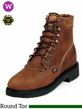 Justin Women's Aged Bark Boots Steel Toe L0774