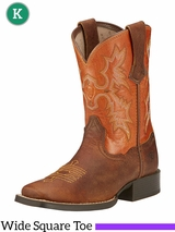 Kid's Ariat Powder Brown Tombstone Boots 10016227
