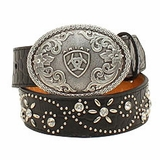 Youth Ariat Flower Belt with Buckle A1302001