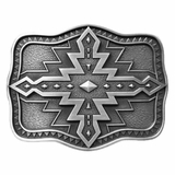 Nocona Aztec Rectangle Buckle 37926