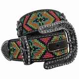 Nocona Ladies Blazin Roxx Multicolor Belt 3522601