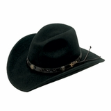 Twister Dakota Crushable Black Cowboy Hat 7211001