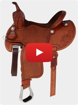 Martin Saddlery FX3 Saddle 67PFS Review Video