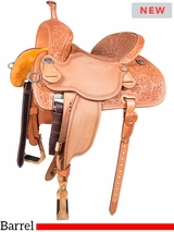 "12.5"" to 15.5"" Martin Saddlery Sherry Cervi Stingray Barrel Racer 71-C2"