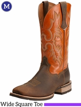 Men's Ariat Distressed Brown Tombstone Boots 10014023