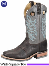Men's Double-H ICE� Cool Grey Roper Boots DH3575
