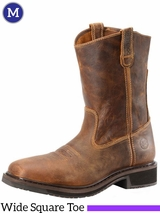 Men's Double-H Wide Square Toe Roper Boots DH4123