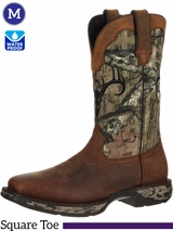 Men's Durango Rebel Waterproof Camo Deer Skull Boots DDB0058