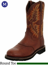 Men's Justin Boots - Stampede Collection Sunset Cowhide 4655