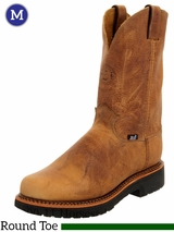 Men's Rugged Tan Gaucho Justin Boots 4440