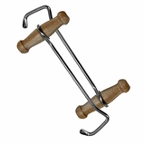 Natural Wood Short Boot Hooks