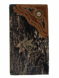 Nocona Camouflage Rodeo Wallet/Checkbook Cover N540222