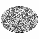 Nocona Ladies Crystals Belt Buckle 37540