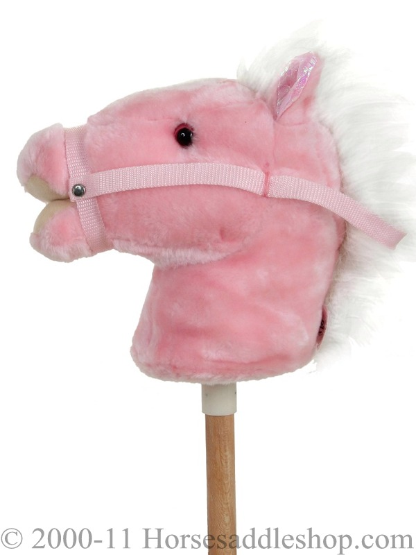 Kid And Toy Horse Stick