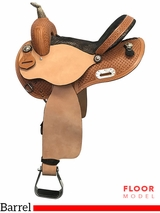 "PRICE REDUCED! 14"" Nash Saddlery Wide Barrel Saddle 304019, Floor Model"