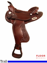 "** SALE ** PRICE REDUCED! 15"" to 16"" Big Horn Extra Wide Trail Saddle 908"