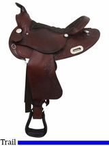 "15"" to 16"" Big Horn Extra Wide Trail Saddle 908"