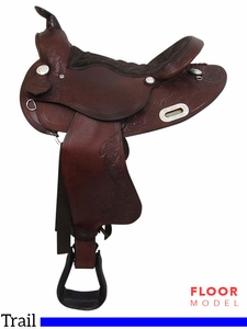 "PRICE REDUCED! 15"" to 17"" Big Horn Trail Saddle 908"