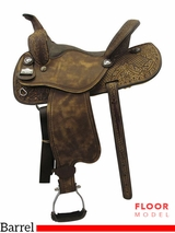 "PRICE REDUCED! 15"" Big Horn Wide Barrel Saddle 1585"
