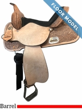 """PRICE REDUCED! 15"""" High Horse by Circle Y The Proven Mansfield Wide Barrel Saddle 6221, Floor Model"""