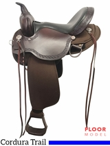 "PRICE REDUCED! 15"" High Horse Daisetta Wide Trail Saddle 6914, Floor Model"