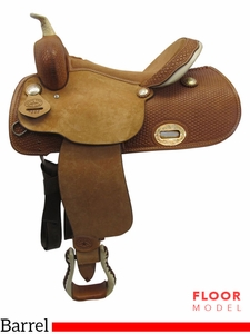 "SOLD 2017/07/25 . PRICE REDUCED! 15"" Big Horn Wide Barrel Saddle 932685R, Floor Model usbh3365 *Free Shipping*"