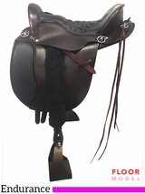 "PRICE REDUCED! 16.5"" Tucker Equitation Extra Wide Endurance Saddle 149, Floor Model"