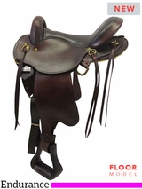 "PRICE REDUCED! 16"" Big Horn QHB Gaited Endurance Saddle 830"