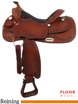"PRICE REDUCED! 16"" Big Horn Supreme Reiner Saddle 889"