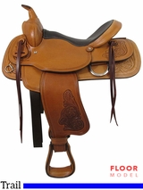 "PRICE REDUCED! 16"" Big Horn Trail Saddle 526"