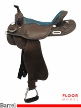 "PRICE REDUCED! 16"" Big Horn Wide Barrel Saddle 1516"