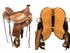 "SOLD 2017/07/18  PRICE REDUCED! 16"" Circle Y Walnut Grove Wide Flex2 Trail Saddle 1157, Floor Model"