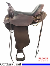"PRICE REDUCED! 16"" High Horse El Dorado Wide Trail Saddle 6915, Floor Model"