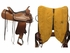 """PRICE REDUCED! 16"""" Used Circle Y Shallowater All-Around Trail Saddle 2606, Floor Model"""