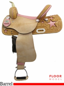 "SOLD 2017/06/29  PRICE REDUCED - New 15"" American Saddlery 845 Barrel Saddle usam3139 *Free Shipping*"