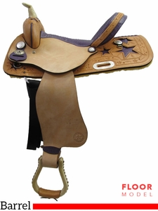 "PRICE REDUCED - New 15"" American Saddlery 845 Barrel Saddle usam3187 *Free Shipping*"