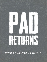 Professional's Choice Pad Returns