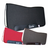 "Professional's Choice SMx Air Ride Western All Around Saddle Pad ARAA Fleece Bottom 30""L x 32""D"