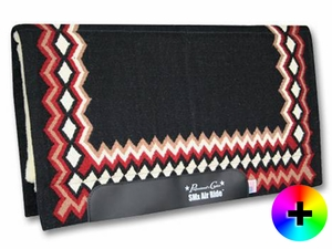 Professional's Choice SMx Air Ride Western Show Saddle Pad AXHDS Shilloh Pattern