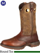 Men's Durango Rebel Brown Saddle Western Boots DB5468