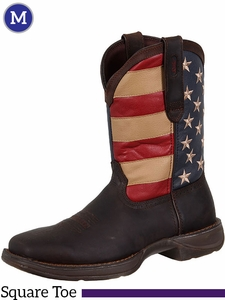 Men's Durango Rebel Patriotic Pull-On Western Boots DB5554