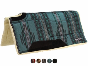 """Reinsman Cutback Built Up Square Saddle Pad, High Withers 32""""L x 32""""D 237"""