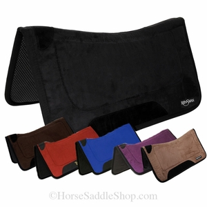 "Reinsman Tacky Too Contour Solid Saddle Pad 32""L x 32""D prs246t"