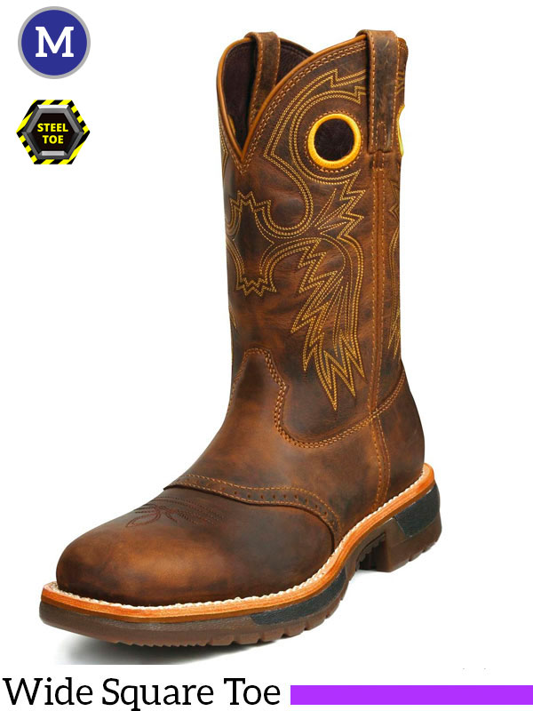 Men's Original RIDE Steel Toe Western Work Boot 6029